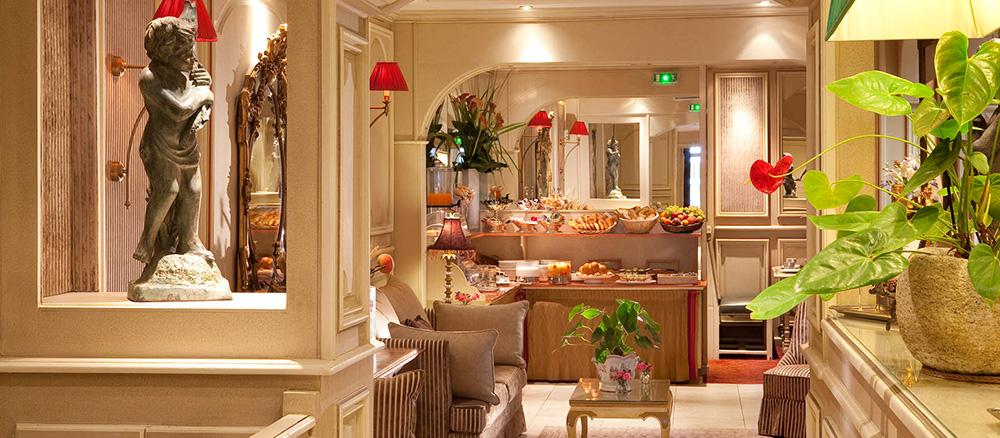 Hotel Au Manoir St-Germain des Pres Paris | OFFICIAL SITE